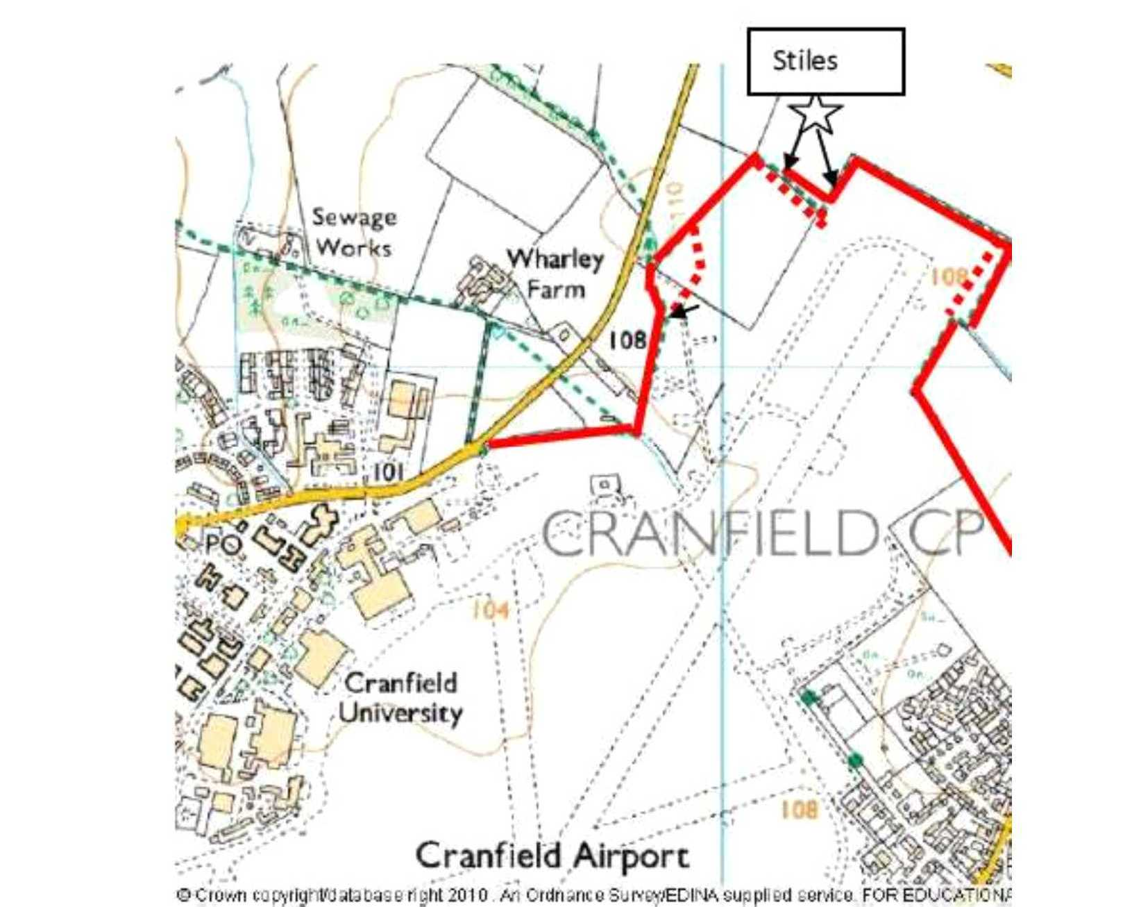 Cranfield village, airport security and a tea party | Cranfield ...