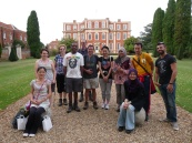 Cranfield University Walks on a visit to Chicheley Hall