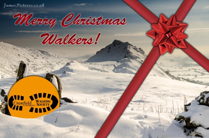 Merry Christmas Cranfield Walkers. Picture from JamesPictures.co.uk