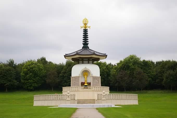 Peace Pagoda. Milton Keynes.
