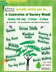 Rectory wood celebration