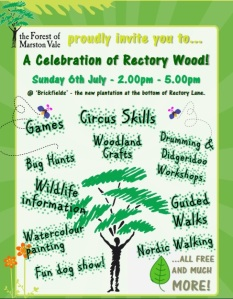 Rectory wood celebration