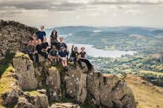 Lake District weekend hike