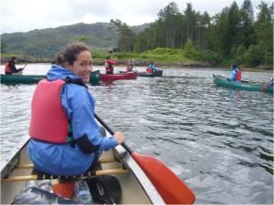 Belén at Loch Moidart, Scotland