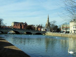 The_River_Great_Ouse_At_Bedford
